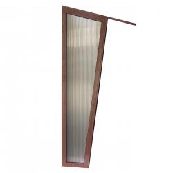 Ścianka Meles - daszek nad drzwi Arctom, daszki z poliwęglanu