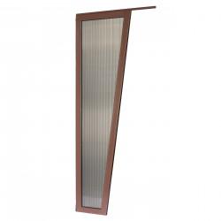 Ścianka Onyx - daszek nad drzwi Arctom, daszki z poliwęglanu