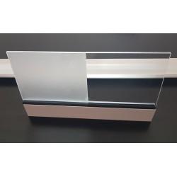 Daszek Kwarc XL - daszek nad drzwi Arctom, daszki z poliwęglanu
